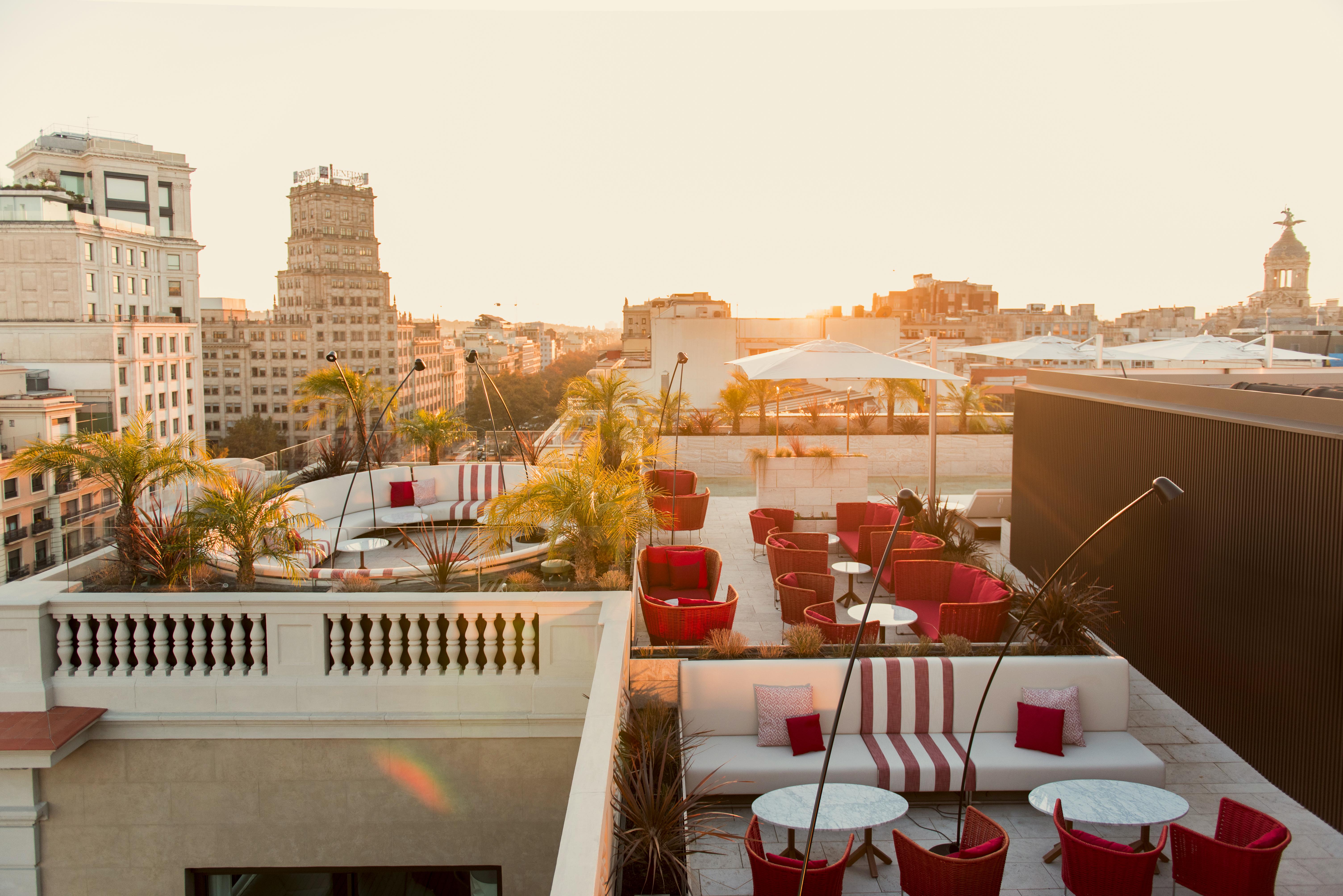 Pool and Rooftop Bar, Almanac Hotel, Barcelona